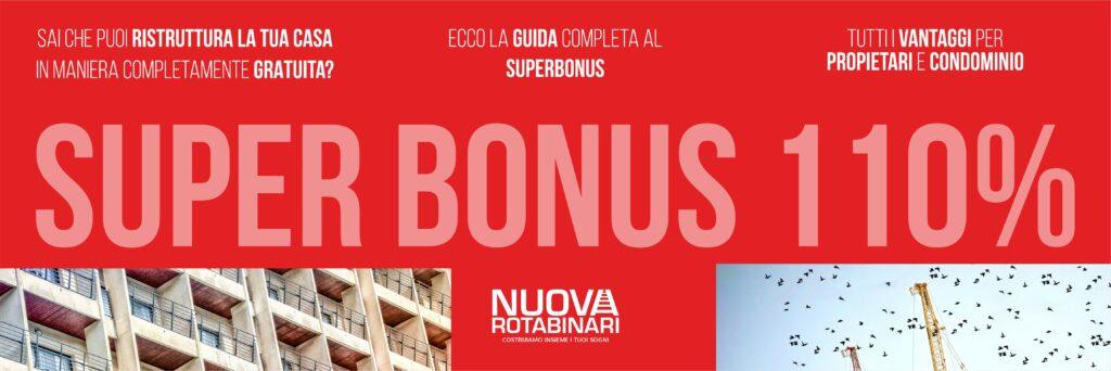 NUOVA ROTABINARI SUPERBONUS 110