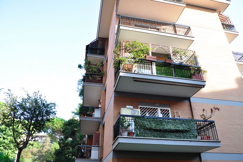 ristrutturazione immobili e palazzine - VIA PECCIOLI 30 ROMA - NUOVA ROTABINARI
