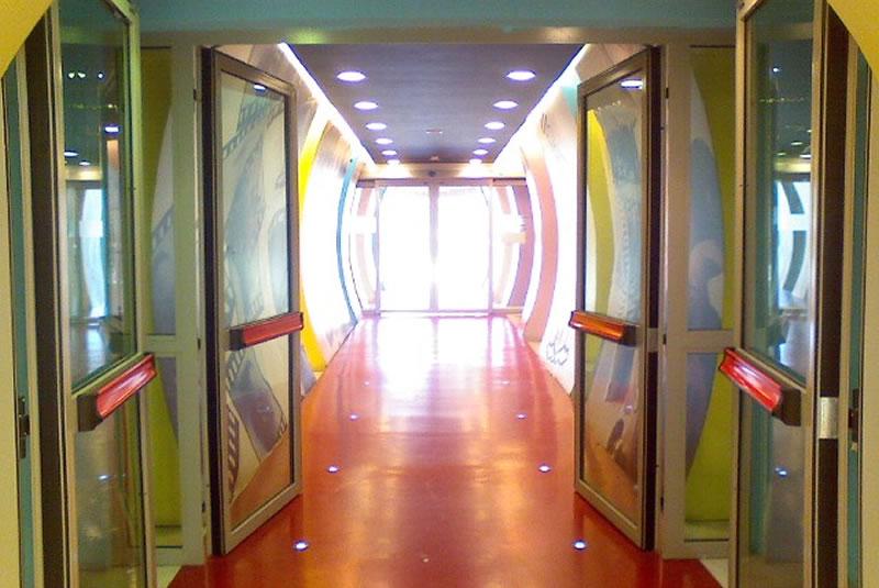 tunnel Centro Commerciale Parco Leonardo | NUOVA ROTABINARI