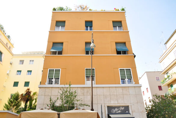 NUOVA ROTABINARI ristrutturazione condominio Tolmino 55 Roma