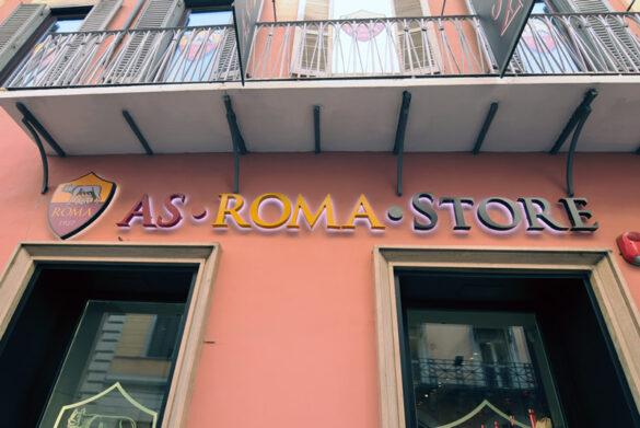 ASROMA Store via del Corso Roma | NUOVA ROTABINARI