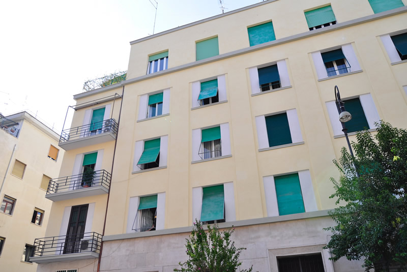 NUOVAROTABINARI ristrutturazione condominio Tolmino43 Roma