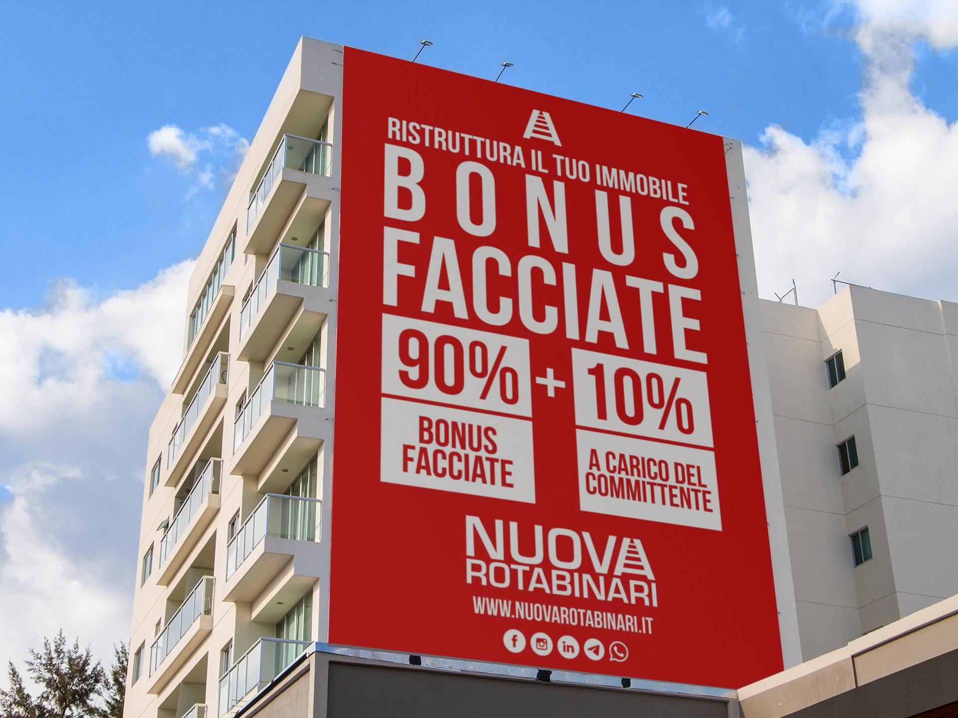 Bonus facciate 90% - NUOVA ROTABINARI